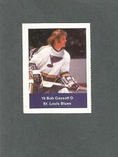 1974-75 Acme Loblaws Hockey Bob Gassoff St Louis Blues
