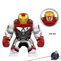 New Marvel Avengers 4 Super Heroes Lego Iron Man Figures Blocks Bricks Toys