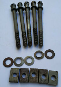 Original Antique French Bed Bolt Screw 4 1/4''  Long # Price for one