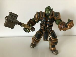 Warcraft III Reign Of Chaos Thrall Blizzard 2002 Action Figure With Hammer