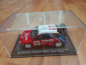 IXO DEAGOSTINI 1/43 CITROEN XSARA WRC MONTE CARLO RALLY 2003 CAR COLIN MCRAE