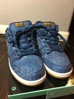 Nike SB Dunk Low TRD QS Rivals Pack East 883232 441 Size 12 Binary Blue Denim