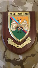 14 Intelligence ARGUS Personalised Military Wall Plaque UK Made