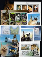 KR 10S/S ANIMALS - CATS - MNH - PETS - ANIMALS - WHOLESALE