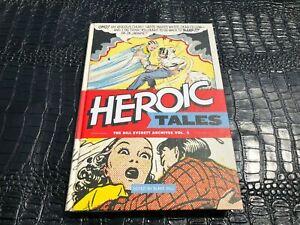 2013 HEROIC TALES Bill Everett Archives 2 hardcover comic strip book (UNREAD)