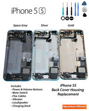 NEW Back Cover Housing Inc Power/Mute/Volume Switch/Vibrator For iPhone 5S GOLD