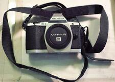 Olympus OM-D E-M5 16.1MP Digital Camera - Silver (Body Only)