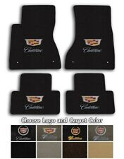 Cadillac CTS 4pc Velourtex Carpet Floor Mat Set - Choose Color & Logo