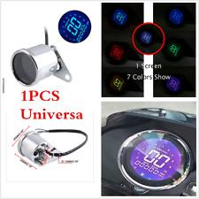 1Pc Universal Motorcycle Metal Retro LCD Digital Speedometer Odometer Waterproof