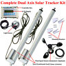 Complete Dual Axis Solar Tracker -Solar Panel Tracking System Sunlight Track Kit