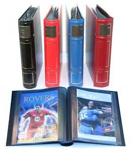 Set of 6 Football programme /  Presentation Binders NEW