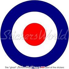 "RAF Royal AirForce Type D Aircraft Roundel UK 4""Sticker"