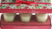 Set Of 3 Votive Tea Light Holders Especially For You MUM - Jasmine Candles