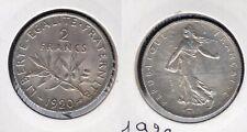 2 Francs Semeuse 1920 SUP argent - III République, 1871-1940