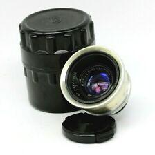 JUPITER-12 2,8/35mm Rangefinder Silver Lens m39 Fed Zorki Leica Red P Retro L39