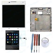ECRAN LCD VITRE TACTILE SUR CHASSIS BLOC COMPLET BLACKBERRY PASSPORT Q30 BLANC