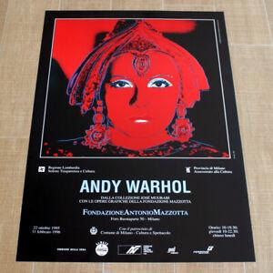 ANDY WARHOL GRETA GARBO MATA HARI poster manifesto affiche Pop Art Myths A6