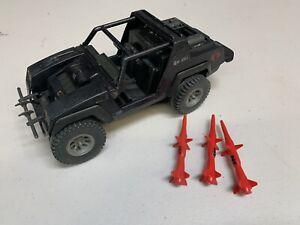G.I. Joe Cobra Stinger Jeep Vintage Incomplete 1984 Hasbro