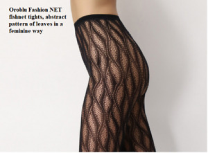 Oroblu Sheer Lace Effect Floral Lace Tights, sheer to waist, floral lace
