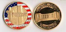 """WW2 - Pièce collection """"Cimetière militaire américain - Mémorial Colleville/Mer"""""""