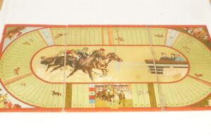 Altes Pferde Brettspiel Pferderennspiel 1.WK Weltkrieg Militär Militaria Soldat