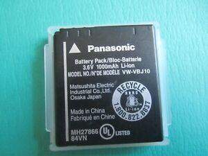 Genuine Panasonic VW-VBJ10 Original Battery BCE10E BCE10PP DMCFX30 FX38 FX55 FS5