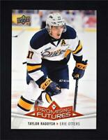 2017-18 Upper Deck UD CHL Promising Futures #PF18 Taylor Raddysh