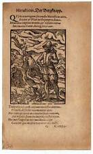 Bergmann-Bergbau-Knappe Holzschnitt von JOST AMMAN 1574