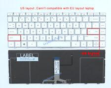 New HP SPECTRE 13-AF13-af000TU 13-AF003TU 13-AF004TU laptop US Backlit Keyboard
