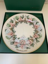 New listing Lenox Georgia 13th in The Colonial Christmas Wreath Series 1993 China Plate