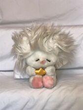 "Dakin All White Frou Frou Angel Plush Christmas Stuffed Toy 7"" 1984"