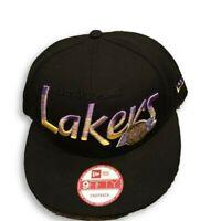 NWT New Los Angeles Lakers New Era 9Fifty HWC Fade To Script Snapback Hat Cap