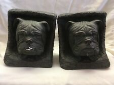 VINTAGE 1973 MACK TRUCK BOOKENDS - LIMITED EDITION #116 - VERY HEAVY (STONE?)