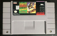 Jungle Strike: The Sequel To Desert Strike Super Nintendo SNES Cartridge Only