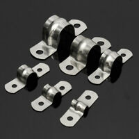 Stainless Steel Plumbing Pipe Saddle Clip Brackets 5 - 20mm All Size Free