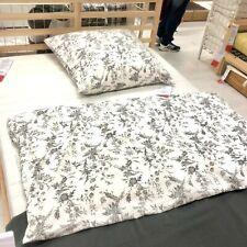 IKEA ALVINE KVIST Bettwäsche Bettbezug 140x200 cm Bettwäscheset grau Set NEU OVP