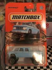"""2021 Matchbox """"1968 Dodge D200""""-Blue"""