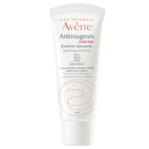 AVENE EAU THERMALE ANTIROUGEURS JOUR / DAY EMULSION SPF 30 40ML