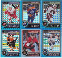 14-15 OPC Platinum David Perron /65 Blue Cubes O-Pee-Chee 2014 Oilers