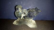 "Swarovski Crystal 1989 ""Amour"" The Turtledoves with Box & COA"