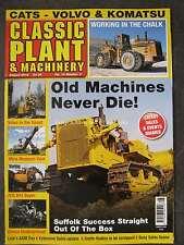 Classic Plant & Machinery August 2016 JCB 814 Super EIMCO Volvo Diplomat museum