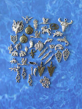 free ship:40 Fetish &Western CHARMS Eagle,Bear,Bison,Horse,Kokopelli,Canoe,Chief