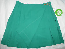 CYCLE BOSTON Pleated Tennis Golf Running Kilt Skirt #301, Green, Size Small NWT
