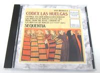 Codex Las Huelgas Vox Iberica Sequentia Deutsche Harmonia Mundi CD Like New