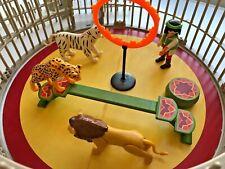 Playmobil Circus Animal Trainer 4233 Playmobil Zirkus Circo Tamer Lion Cage