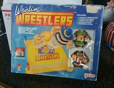 Vintage Galoob Whirlin' Wrestlers WWF K/O MiB Toy Super Rare Complete 1990 Macho