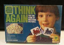 """think again "" game ( match familiar forms) by Pressman 1984 NEW"