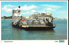 Sandbanks Ferry, by Dennis, 1960's colour Unposted