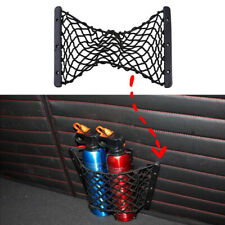 New Rear Trunk Side Cargo Net Elastic Storage Mesh For Fire Extinguisher Luggage