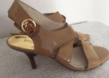 Women's Michael kors Tan Leather Strappy Heels 7.5